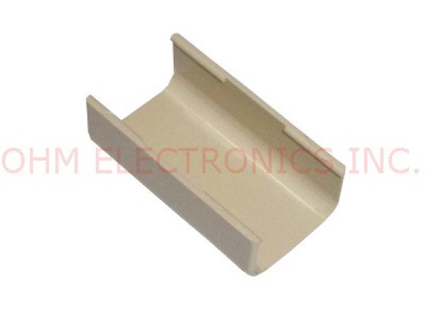 """5 PACK 3M 801 CABLE RACEWAY//DUCT 3//4/"""" IVORY JOINT COVER"""